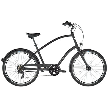 Vélo Beach Cruiser ELECTRA TOWNIE 7D EQ TALL DIAMANT Noir 2020